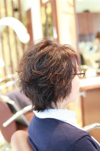 新宿区 上落合 中井駅 骨格に合わせる 修正カット 美容院 美容室 デュース  ツヤ髪