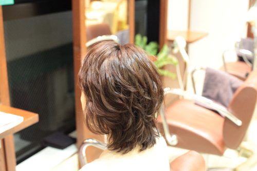 新宿区 上落合 中井駅 美容院 美容室 デュース 電子トリートメント ボリューム フワッと