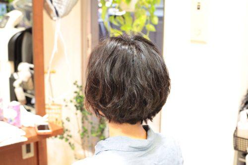 新宿区 上落合 中井駅 美容院 美容室 デュース 電子トリートメント 柔らかい質感