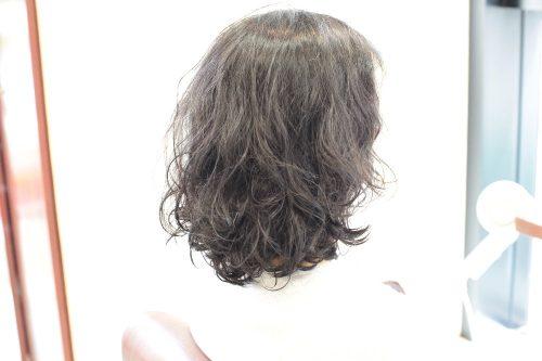 新宿区 上落合 中井駅 美容院 美容室 デュース 電子トリートメント パーマ ボリューム