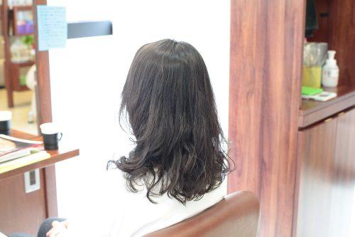 新宿区 上落合 中井駅 美容院 美容室 デュース 電子トリートメント デジタルパーマ 細い髪 ボリューム