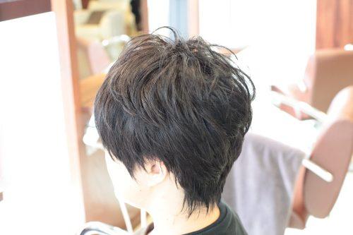 つむじの割れ 白髪染め 新宿区 上落合 中井駅 美容院 美容室 デュース 電子トリートメント