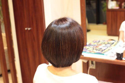 傷ませない 美髪ツヤ髪 新宿区 上落合 中井駅 美容院 美容室 デュース 電子トリートメント カラー