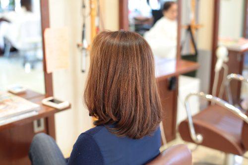 新宿区 上落合 中井駅 美容院 美容室 デュース 電子トリートメント デジタルパーマ 髪を伸ばす