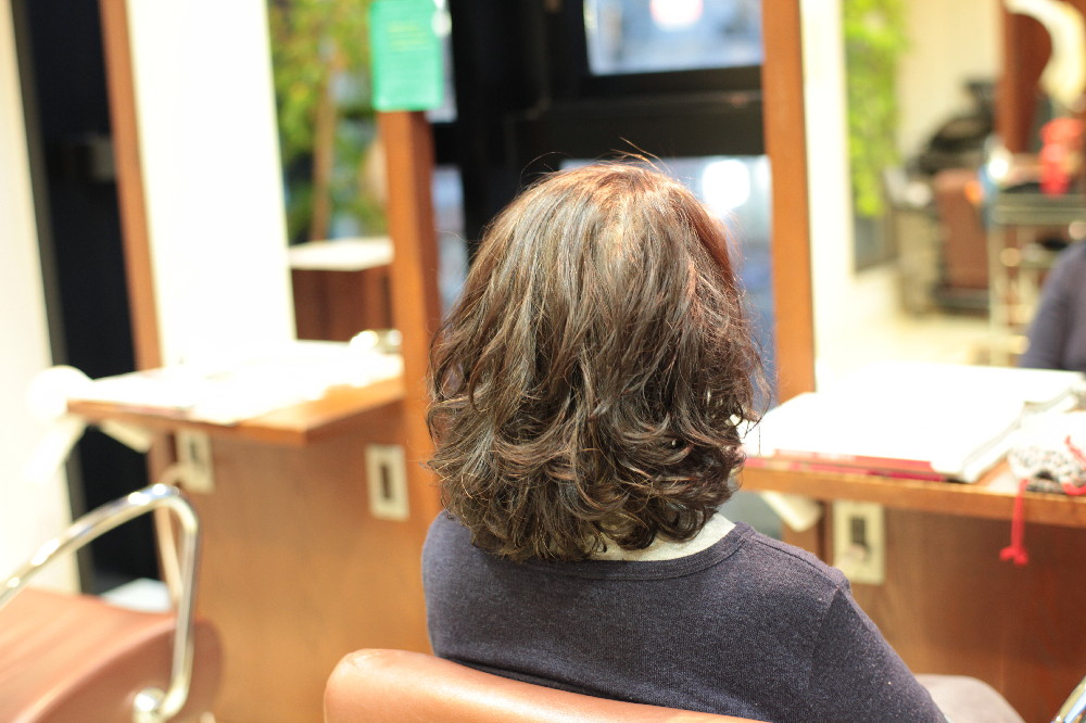 新宿区 上落合 中井駅 美容院 美容室 デュース 電子トリートメント デュース デジタルパーマ