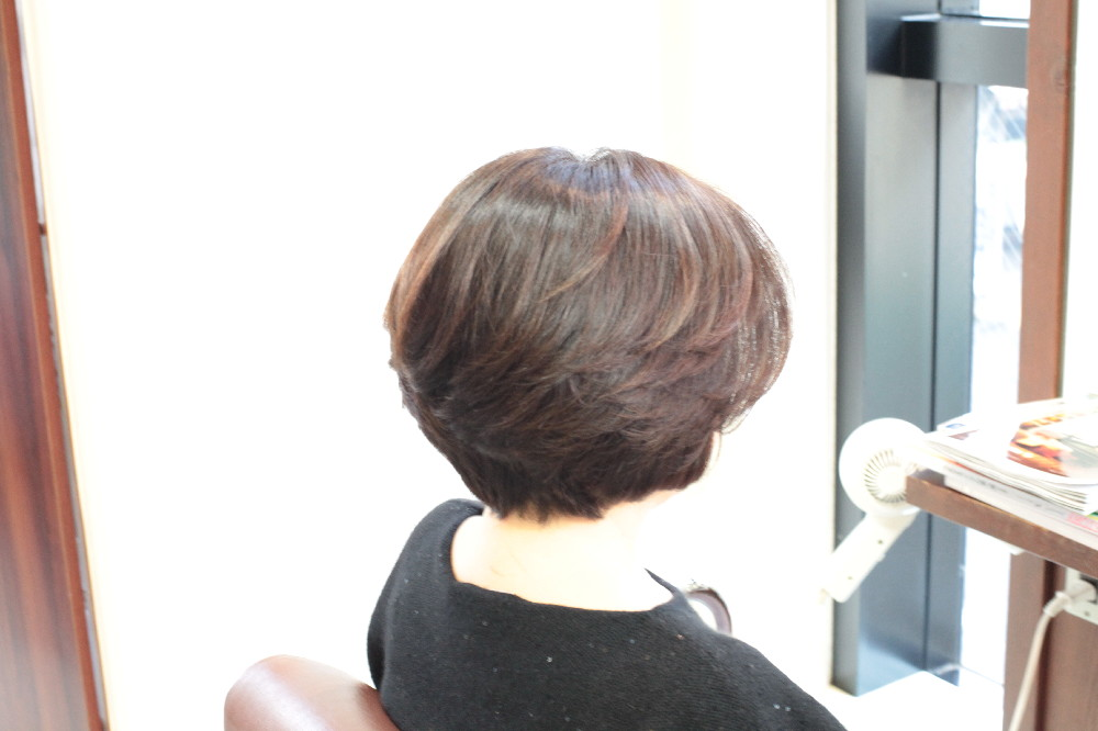 デジタルパーマ 縮毛矯正 新宿区 上落合 中井駅 美容院 美容室 デュース