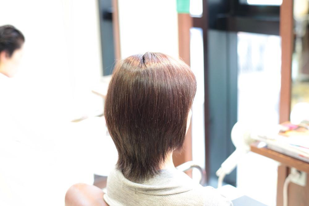 新宿区 上落合 中井駅 美容院 美容室 デュース 電子トリートメント 縮毛矯正 ツヤツヤ 髪質
