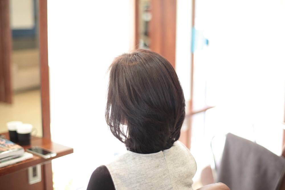 新宿区 上落合 中井駅 美容院 美容室 デュース 電子トリートメント カラー