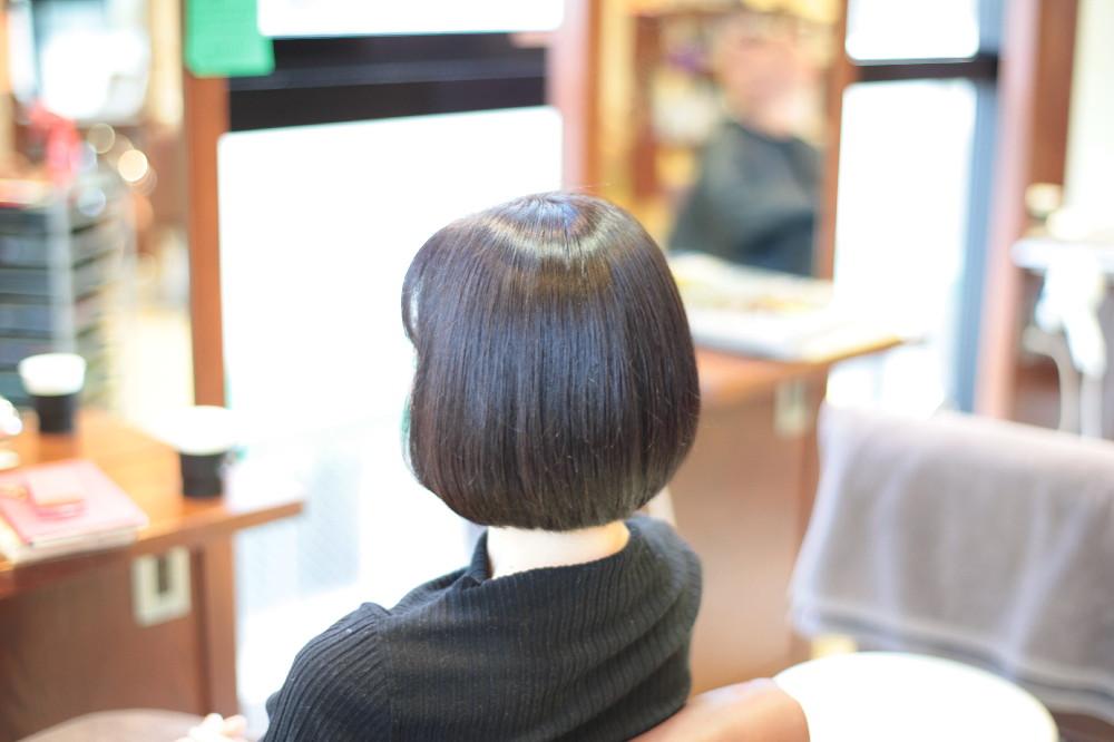 新宿区 上落合 中井駅 美容院 美容室 デュース 電子トリートメント ツヤツヤ 髪の体力