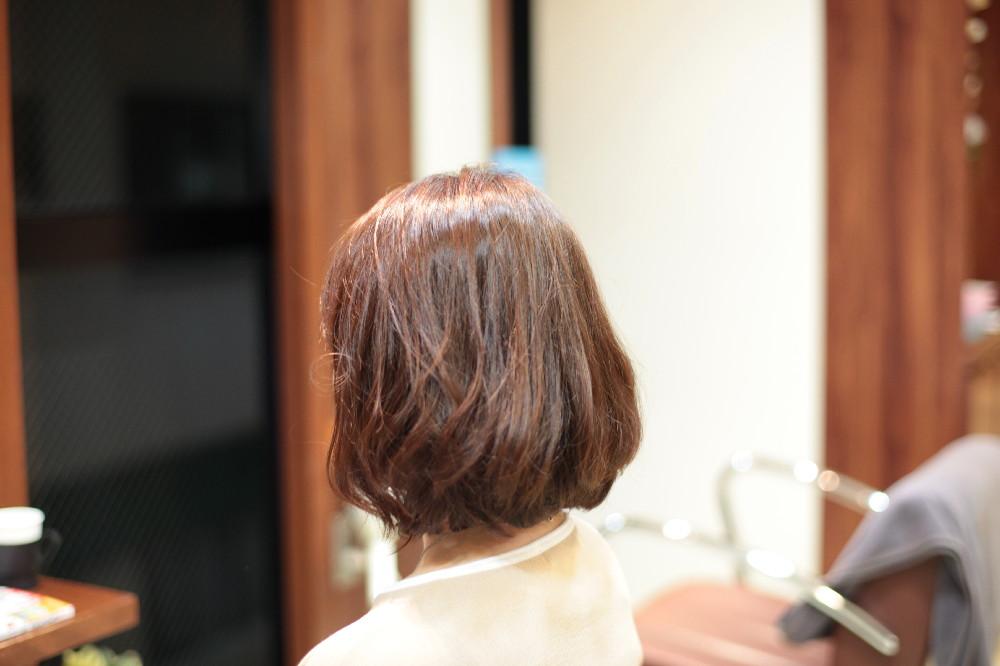 デジタルパーマ 新宿区 上落合 中井駅 美容院 美容室 デュース 電子トリートメント 柔らかい雰囲気