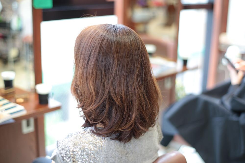 新宿区 上落合 中井駅 美容院 美容室 デュース 電子トリートメント HairSalon D's  髪 傷み 美髪 ツヤ髪 ツヤツヤ デジタルパーマ