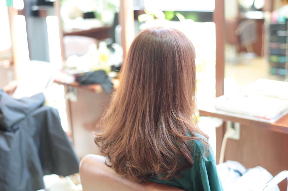 カラーリング 新宿区 上落合 中井駅 美容院 美容室 デュース 電子トリートメント HairSalon D's  髪 傷み 美髪 ツヤ髪 ツヤツヤ