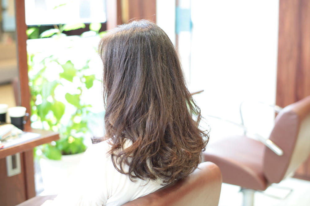 デジタルパーマ 新宿区 上落合 中井駅 美容院 美容室 デュース 電子トリートメント HairSalon D's  髪 傷み 美髪 ツヤ髪 ツヤツヤ