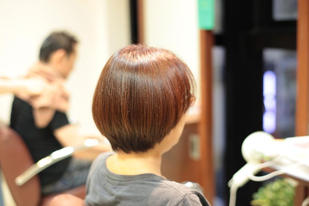 ボブ 新宿区 上落合 中井駅 美容院 美容室 デュース 電子トリートメント HairSalon D's  髪 傷み 美髪 ツヤ髪 ツヤツヤ