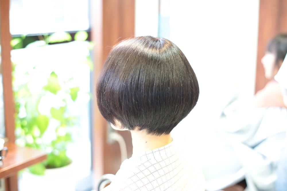 新宿区 上落合 中井駅 美容院 美容室 デュース 電子トリートメント HairSalon D's  髪 傷み 美髪 ツヤ髪 ツヤツヤ ボブ