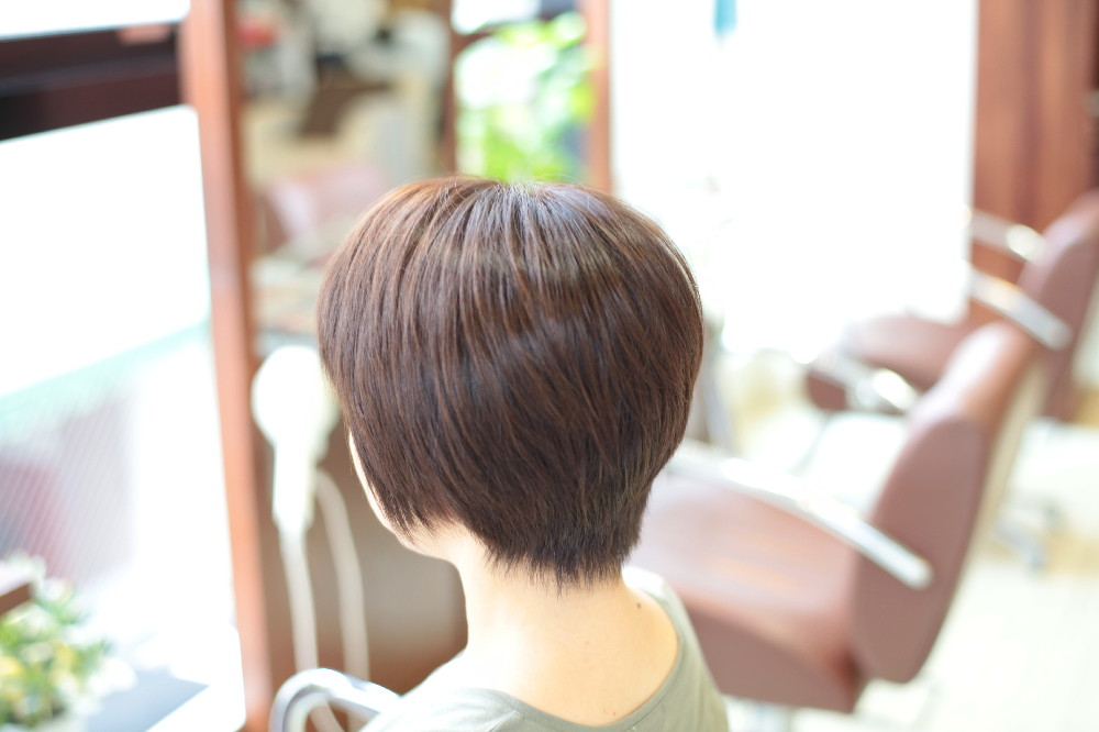 直毛 新宿区 上落合 中井駅 美容院 美容室 デュース 電子トリートメント HairSalon D's  髪 傷み 美髪 ツヤ髪 ツヤツヤ