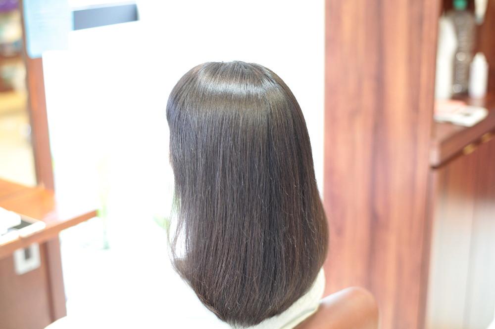 質感矯正 新宿区 上落合 中井駅 美容院 美容室 デュース 電子トリートメント HairSalon D's  髪 傷み 美髪 ツヤ髪 ツヤツヤ