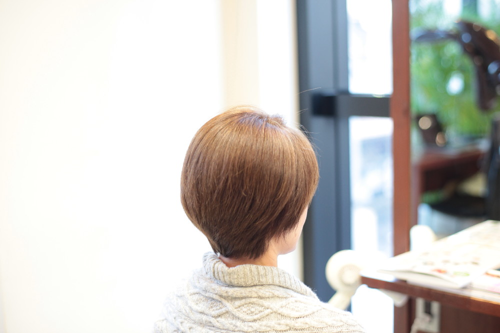 明るい白髪染