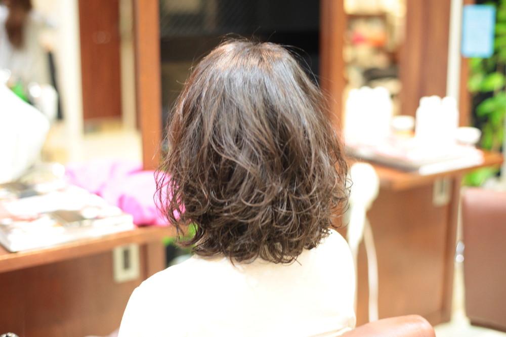 新宿区 上落合 中井駅 美容院 美容室 デュース  トリートメント    髪 傷み 美髪 ツヤ髪 ツヤツヤ 艶 エアーウェーブ 柔らか カール 大きめ