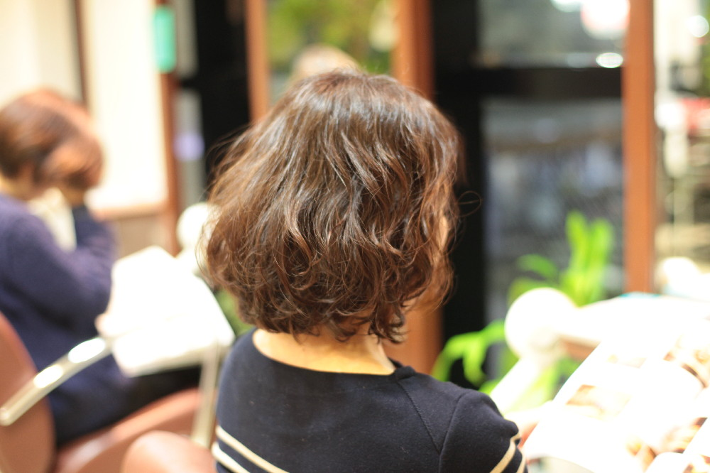 新宿区 上落合 中井駅 美容院 美容室 デュース  トリートメント    髪 傷み 美髪 ツヤ髪  デジタルパーマ