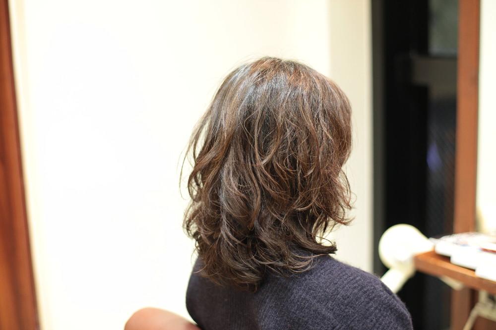 新宿区 上落合 中井駅 美容院 美容室 デュース  トリートメント    髪 傷み 美髪 ツヤ髪 ツヤツヤ エアーウェーブ