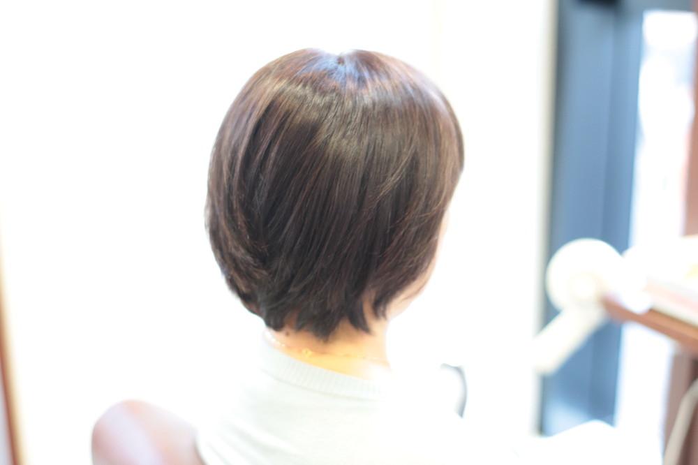 新宿区 上落合 中井駅 美容院 美容室 デュース  トリートメント    髪 傷み 縮毛矯正 自然なストレート