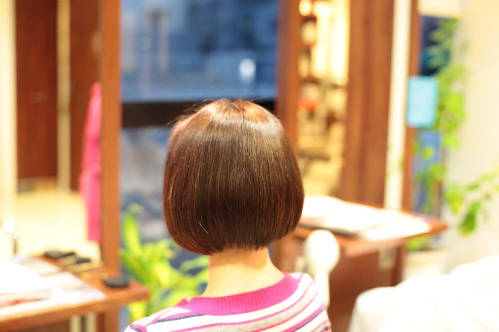 新宿区 上落合 中井駅 美容院 美容室 デュース  電子トリートメント    髪 傷み 美髪 ツヤ髪 縮毛矯正