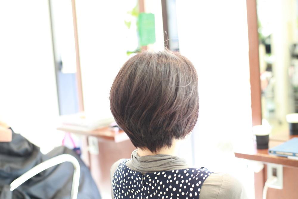カラー 新宿区 上落合 中井駅 美容院 美容室 デュース  電子トリートメント    髪 傷み 美髪 ツヤ髪