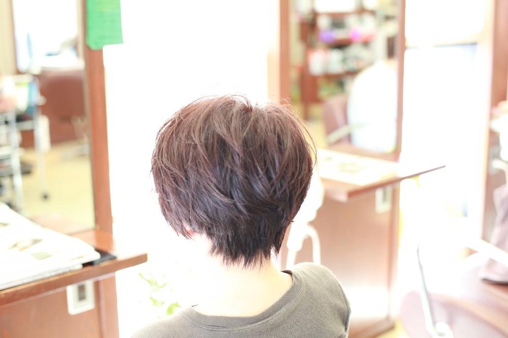 ショートスタイル   新宿区 上落合 中井駅 美容院 美容室 デュース  電子トリートメント
