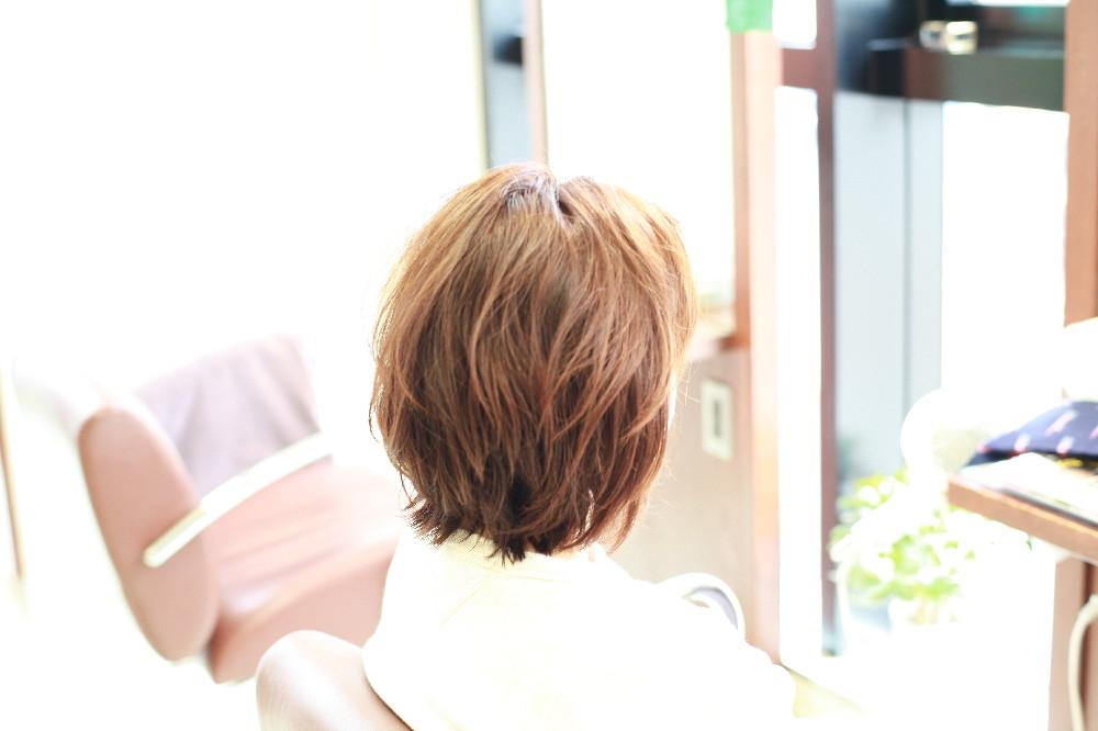 新宿区 上落合 中井駅 美容院 美容室 デュース  電子トリートメント    髪 傷み 美髪 ツヤ髪 カール