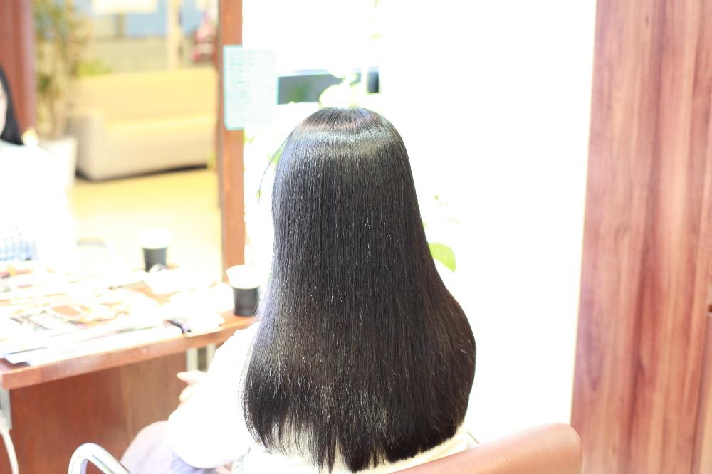 新宿区 上落合 中井駅 美容院 美容室 デュース  電子トリートメント    髪 傷み 美髪 縮毛矯正 自然なストレート