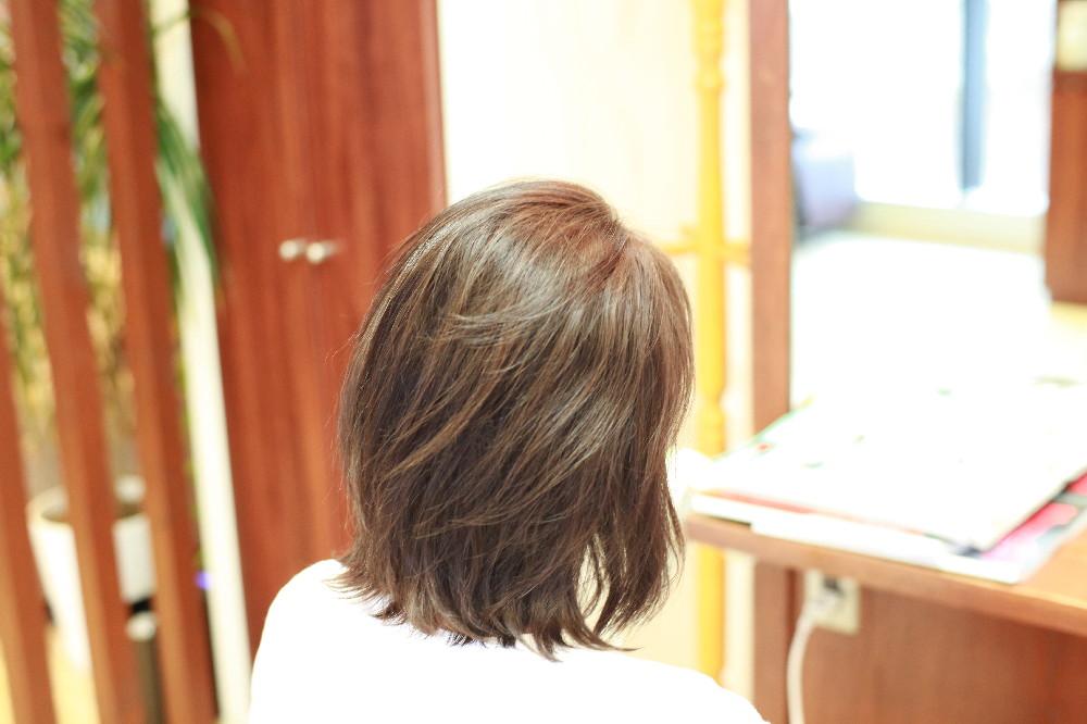 新宿区 上落合 中井駅 美容院 美容室 デュース  電子トリートメント 髪 傷み 美髪
