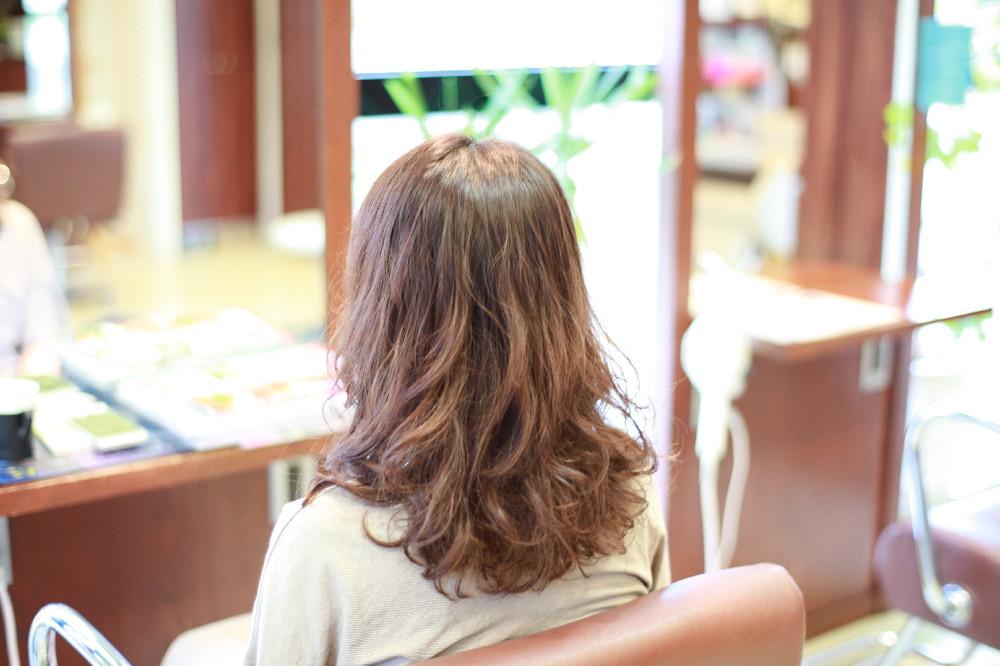 新宿区 上落合 中井駅 美容院 美容室 デュース  電子トリートメント    髪 傷み デジタルパーマ